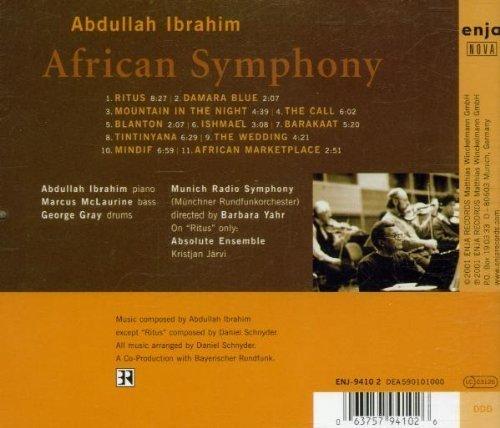 Bild 2: Abdullah Ibrahim, African symphony (2001, Absolute Ensemble/Järvi..)