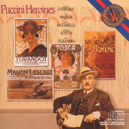 Bild 1: Puccini, Heroines (CBS, 1975-84) Kiri Te Kanawa, Ileana Cotrubas, Katia Ricciarelli, Renata Scotto..