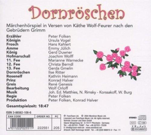Bild 2: Brüder Grimm, Dornröschen (Märchenhörspiel von Käthe Wolf-Feurer mit Peter Folken..)