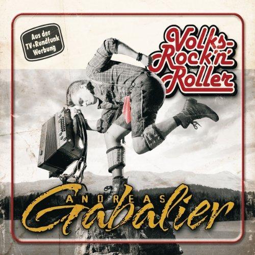 Bild 1: Andreas Gabalier, Volksrock 'n' Roller (2012, slidecase)