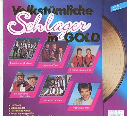 Bild 1: Volkstümliche Schlager in Gold, Kastelruther Spatzen, Wildecker Herzbuben, Patrick Lindner, Andy Borg...