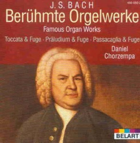 Bild 1: Bach, Berühmte Orgelwerke (1971/82) Daniel Chorzempa