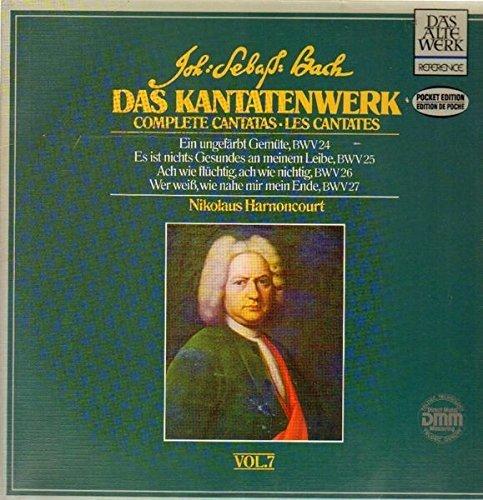 Bild 1: Bach, Das Kantatenwerk 07 (BWV 24-27; Teldec) (Wiener Sängerknaben, Concentus musicus Wien/Harnoncourt)