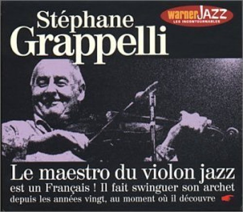 Bild 1: Stephane Grappelli, Same-Le maestro du violon jazz