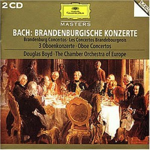 Bild 1: Bach, Brandenburgische Konzerte Nr. 1-6; 3 Oboenkonzerte (DG) Douglas Boyd, Chamber Orchestra of Europe