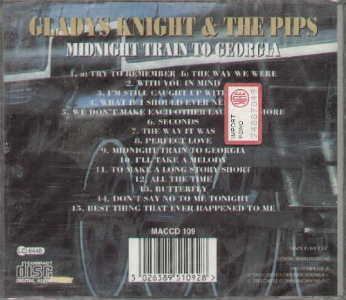 Bild 2: Gladys Knight & The Pips, Midnight train to Georgia (compilation, 15 tracks)