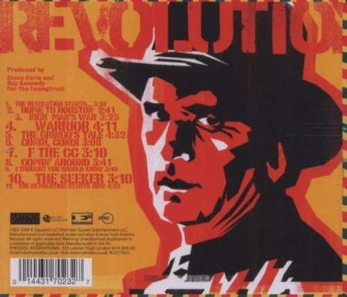 Bild 2: Steve Earle, Revolution starts..now (2004)