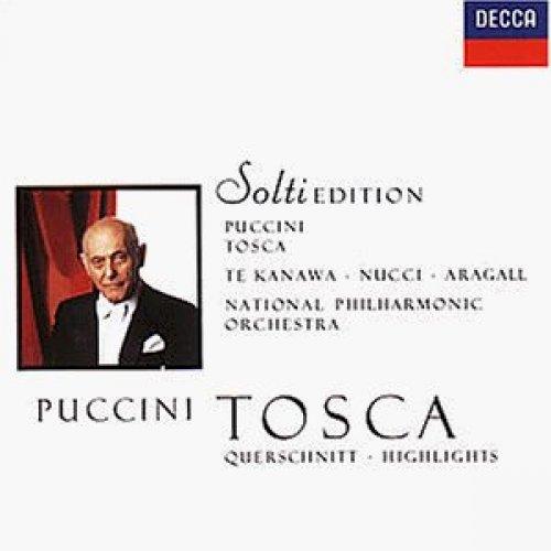 Bild 1: Puccini, Tosca-Querschnitt (Decca, 1986) National PO/Solti, Kiri Te Kanawa, Giacomo Aragall..