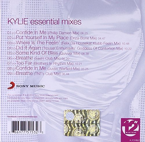 Bild 2: Kylie Minogue, Essential mixes (2010; 12'' masters)