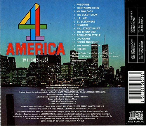 Bild 2: TV Themes America 4, Roseanne, Thirtysomething, My Two Dads, Codby Show, L.A. Law...