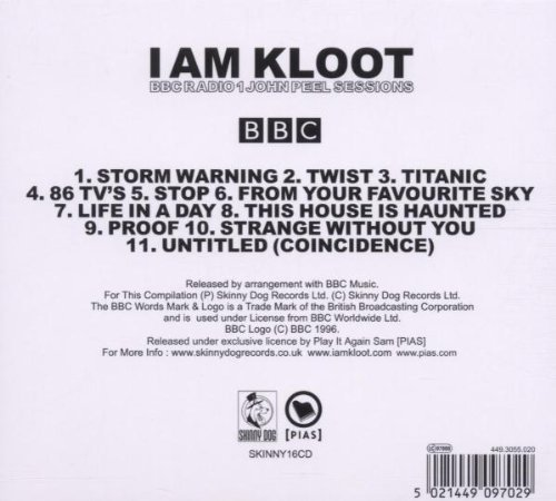 Bild 2: I Am Kloot, BBC Radio1 John Peel Sessions
