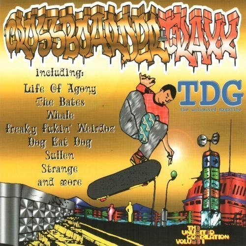 Bild 1: Crossboarder-Traxx 1 (1996), Bates, Sorry about your daughter, Dog eat dog, Life of agony..