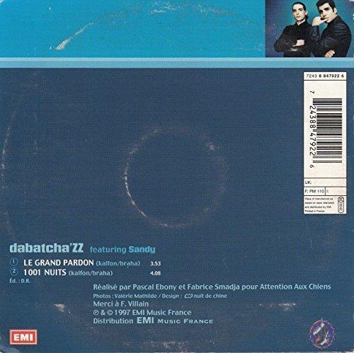 Bild 2: Dabatcha'ZZ, Le grand pardon (feat. Sandy, cardsleeve)