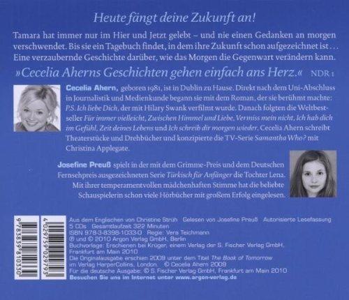 Bild 2: Cecelia Ahern, Ich schreib dir morgen wieder (gelesen von Josefine Preuß)