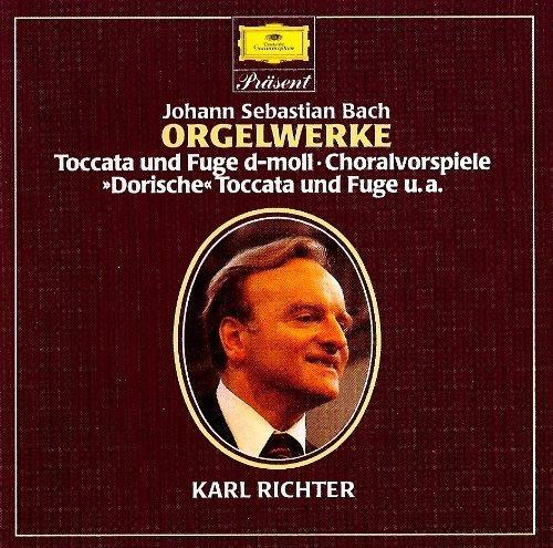 Bild 1: Bach, Orgelwerke (DG) Karl Richter