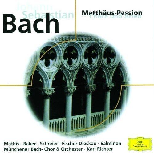 Bild 1: Bach, Matthäus-Passion-Chöre und Arien (DG, 1980) Münchener Bach-Orch./Richter, Edith Mathis, Janet Baker, Peter Schreier..