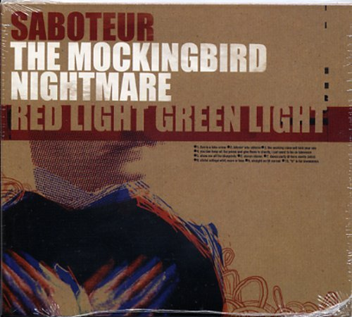 Bild 1: Saboteur, Split CD with:Mockingbird Nightmare; Red Light Green Light