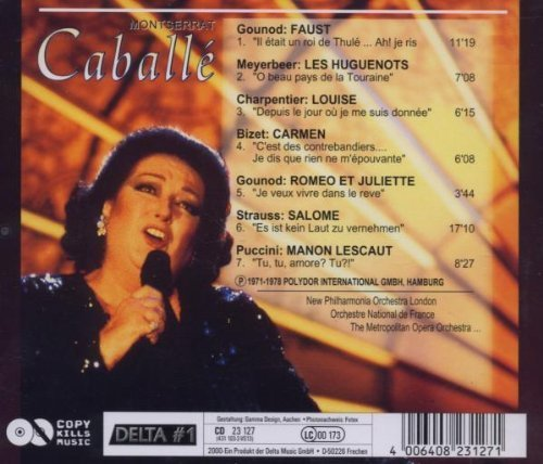 Фото 2: Montserrat Caballé, Same (7 tracks, 1971-78) New Philharmonia Orch. London, Orch. National de France, Metropolitan Orch...