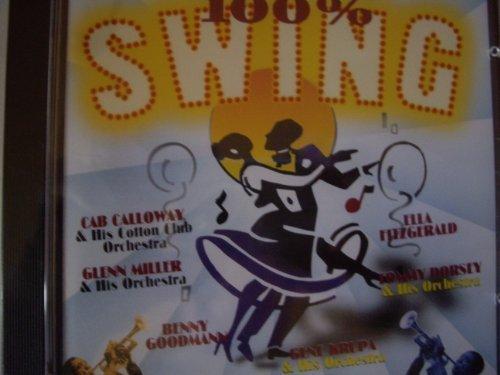Bild 1: 100% Swing (21 tracks), Glenn Miller, Tommy Dorsey, Benny Goodman, Gene Krupa, Duke Ellington, Ella Fitzgerald, Artie Shaw..