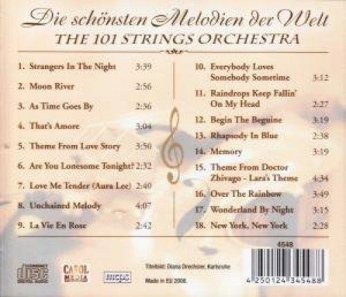 Bild 2: 101 Strings Orchestra, Die schönsten Melodien de Welt