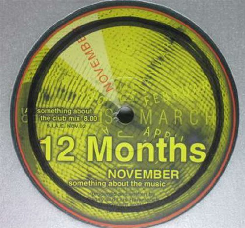Bild 1: 12 Months, November (something about the music)