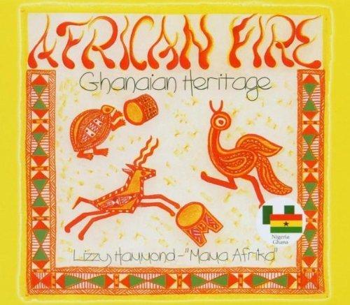 Bild 1: Lizzy Hammond, African fire (Ghanaian Heritage)