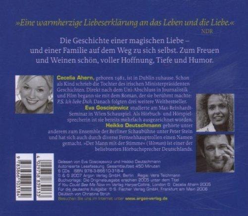 Bild 2: Cecelia Ahern, Zwischen Himmel und Liebe (6 CD, gelesen von:Eva Gosciejewicz und Heikko Deutschmann)
