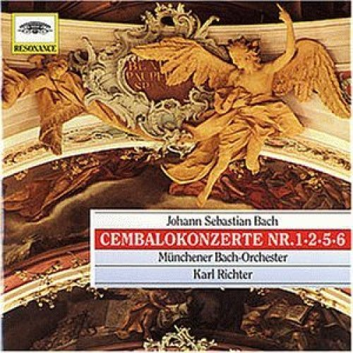 Bild 1: Bach, Cembalokonzerte: BWV 1052, 1053, 1056, 1057 (Resonance, 1973) Münchener Bach-Orch./Karl Richter