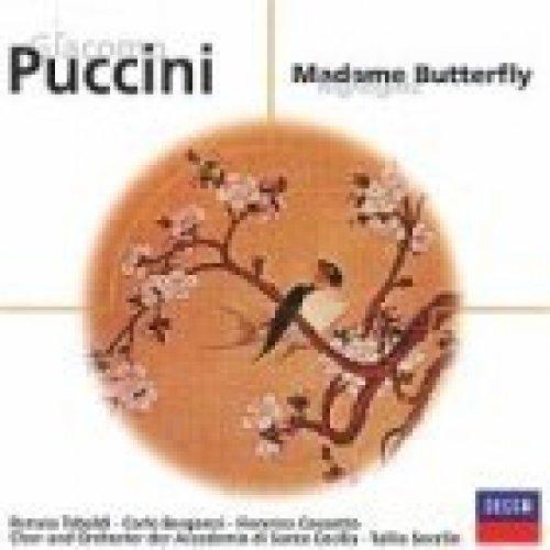 Bild 2: Puccini, Madame Butterfly-Highlights (Decca) Renata Tebaldi, Carlo Bergonzi, Fiorenza Cossotto, Chor & Orch. der Accademia di Santa Cecilia/Serafin