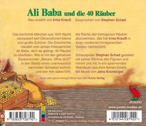 Bild 2: Ali Baba und die vierzig Räuber, Neu erzählt von Irma Krauß (gesprochen von Stephan Schad)