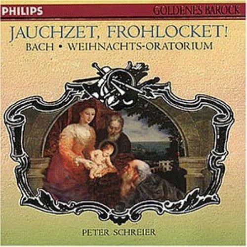 Bild 1: Bach, Weihnachtsoratorium, BWV 248 (Philips, 1987) Staatskapelle Dresden/Schreier, Helen Donath, Trompetenensemble Ludwig Güttler..