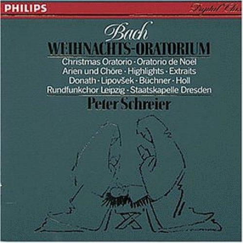 Bild 2: Bach, Weihnachtsoratorium, BWV 248 (Philips, 1987) Staatskapelle Dresden/Schreier, Helen Donath, Trompetenensemble Ludwig Güttler..