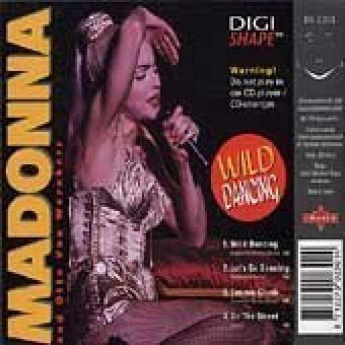 Bild 1: Madonna, Wild dancing (shape-disc, 4 tracks, & Otto von Wernherr)