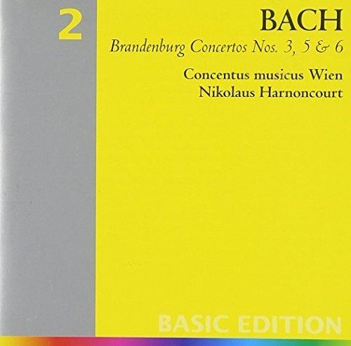 Bild 1: Bach, Brandenburg concertos Nos. 4, 5 & 6 (Teldec) Concentus Musicus Wien/Harnoncourt