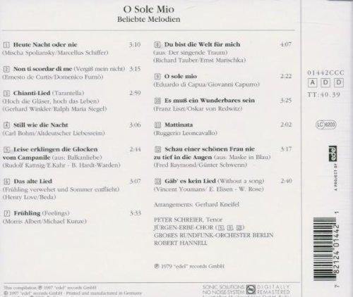 Bild 2: Peter Schreier, O sole Mio (compilation, 1997)