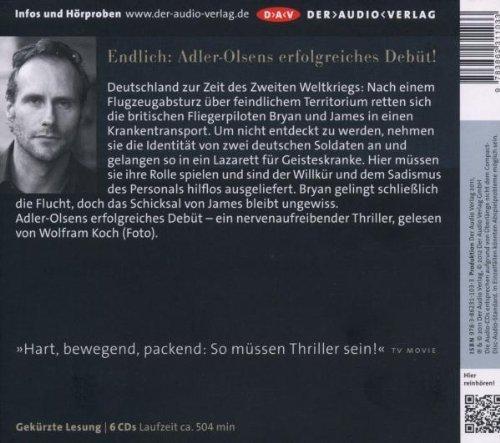 Bild 2: Jussi Adler-Olsen, Das Alphabethaus (Leser: Wolfram Koch)