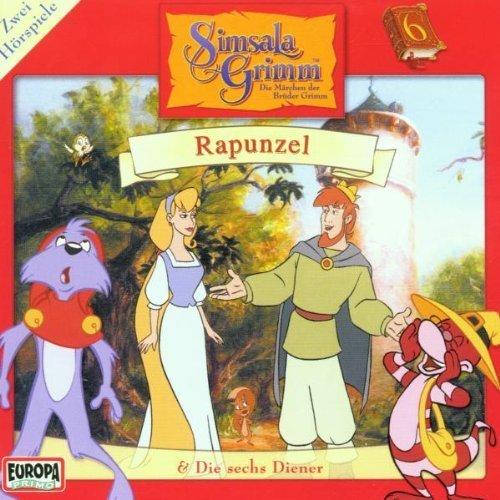Bild 1: Brüder Grimm, Simsala Grimm 6:Rapunzel/Die sechs Diener