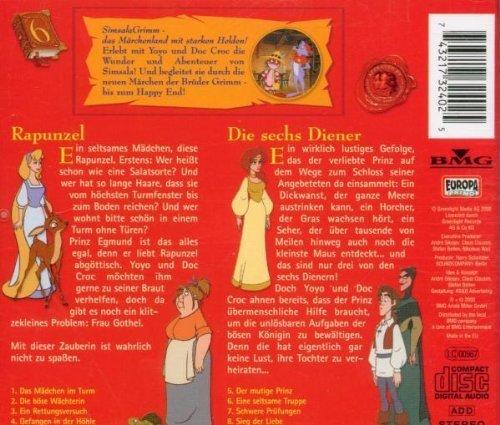 Bild 2: Brüder Grimm, Simsala Grimm 6:Rapunzel/Die sechs Diener