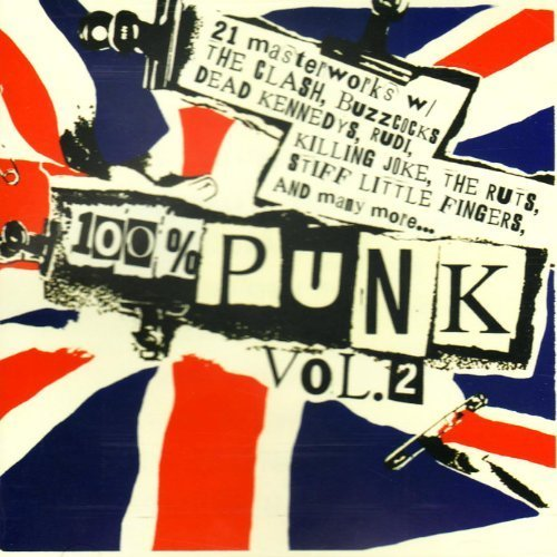 Bild 2: 100% Punk Vol.2, Clash, Generation X, Buzzcocks, Dead Kennedys, Killing Joke...