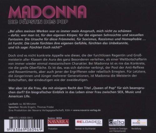 Bild 2: Madonna, Die Päpstin des Pop (Sprecher: Nicole Engeln, Thomas Friebe)