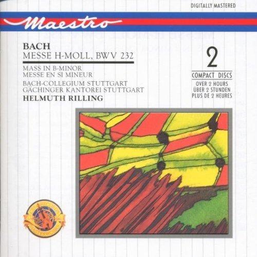 Bild 1: Bach, Messe in h-moll, BWV 232 (CBS) Gächinger Kantorei Stuttgart, Bach-Collegium Stuttgart, Helmuth Rilling