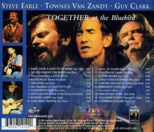 Bild 2: Steve Earle, Together at the Bluebird (& Townes van Zandt, Guy Clark)