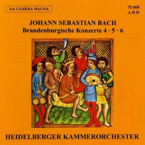 Bild 1: Bach, Brandenburgische Konzerte Nr. 4, 5, 6 Heidelberger Kammerorchester