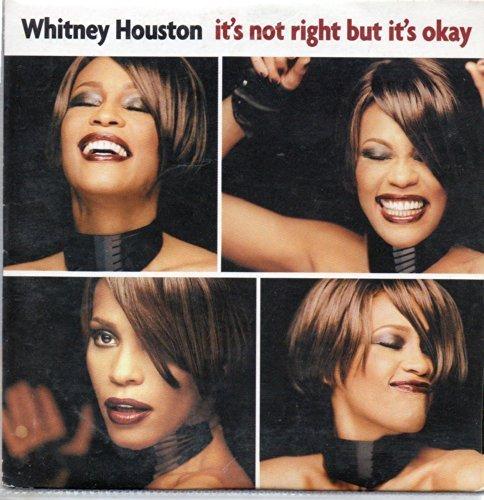 Bild 1: Whitney Houston, It's not right but it's okay (cardsleeve)