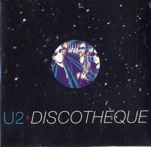 Bild 1: U2, Discothèque/Holy Joe (cardsleeve)