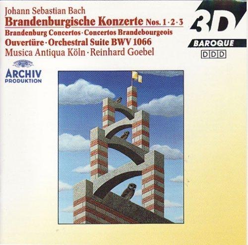 Bild 1: Bach, Brandenburgische Konzerte Nr. 1, 2, 3 (Archiv) Musica Antiqua Köln, Reinhard Goebel
