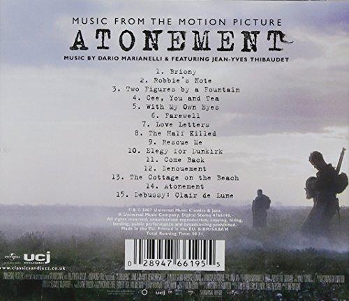 Bild 2: Atonement, Music by Dario Marianelli & Feat. Jean-Yves Thibaudet