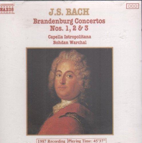 Bild 1: Bach, Brandenburg concertos Nos. 1, 2 & 3 (Naxos) Capella Istropolitana, Bohdan Warchal