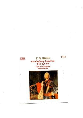 Bild 1: Bach, Brandenburg concertos Nos. 4, 5 & 6 (Naxos, 1987) Capella Istropolitana/Warchal