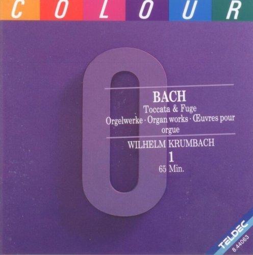 Bild 1: Bach, Toccata & Fuge-Orgelwerke (Teldec) Wilhelm Krumbach